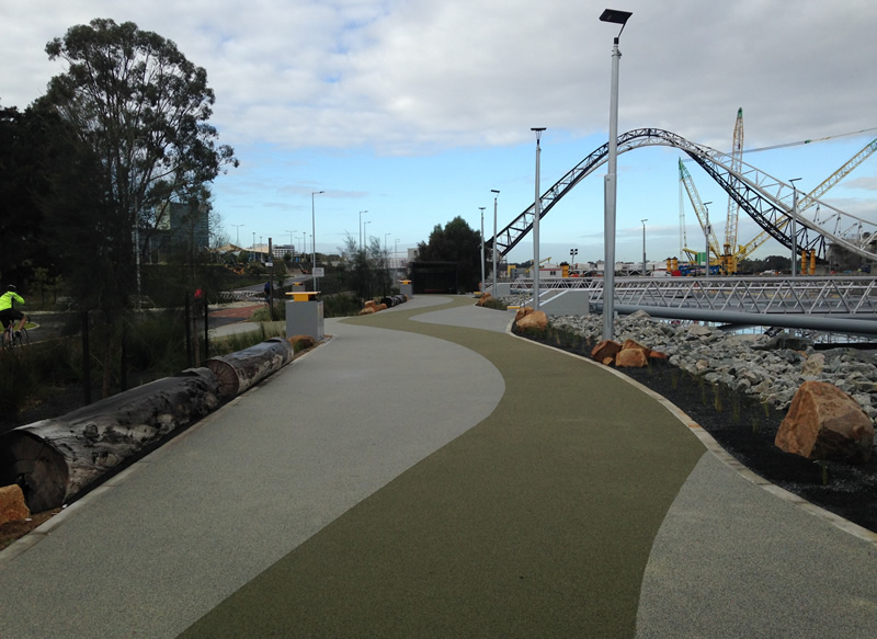 Burswood Jetty completion - pathway