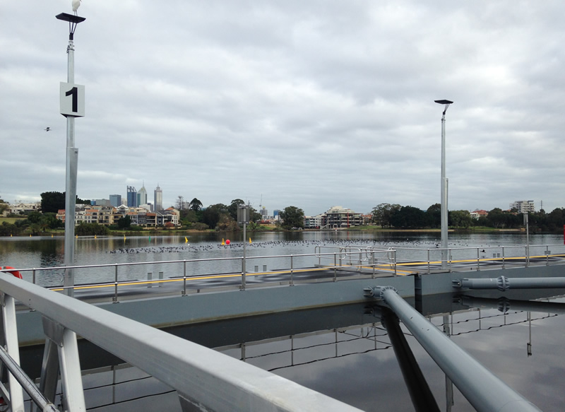 Burswood Jetty completion - supports