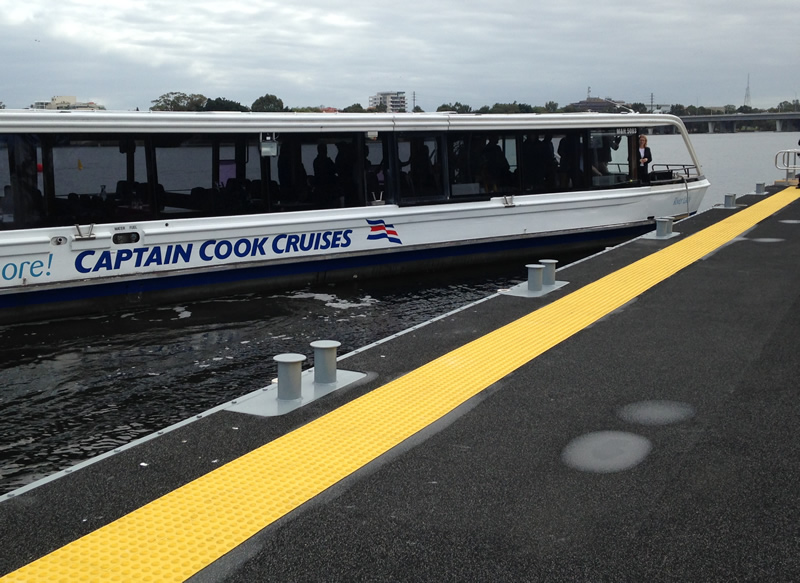 Burswood Jetty completion - ferry docking
