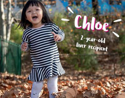DonateLife - Chloe, 2 year old liver recipient
