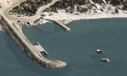 Fishery Beach (Bremer Bay) boat ramp protection project
