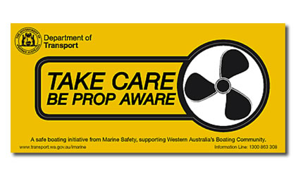 Prop aware sticker