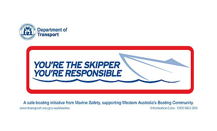 You're the skipper sticker