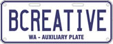 Auxiliary plate sample: BCREATIVE