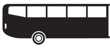 HR vehicle class bus rear
