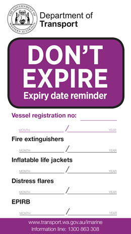 Don't expire sticker