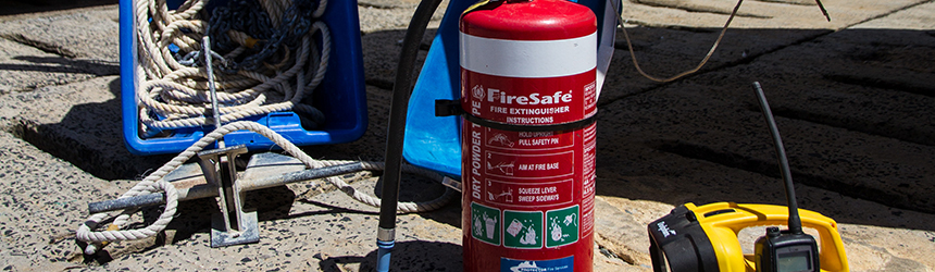Image of safety equipment - fire extinguisher