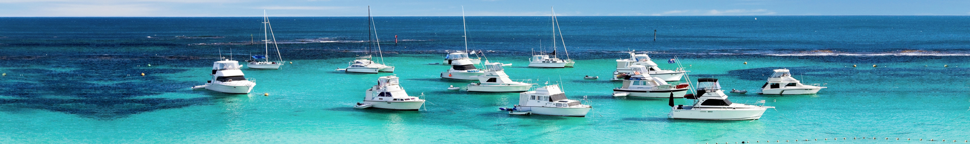 Boats at Rottnest Island