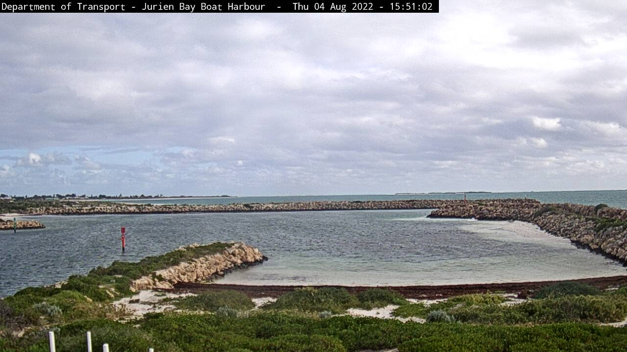 Jurien Bay webcam - Jurien Bay Harbour webcam, Western Australia, Shire of Dandaragan