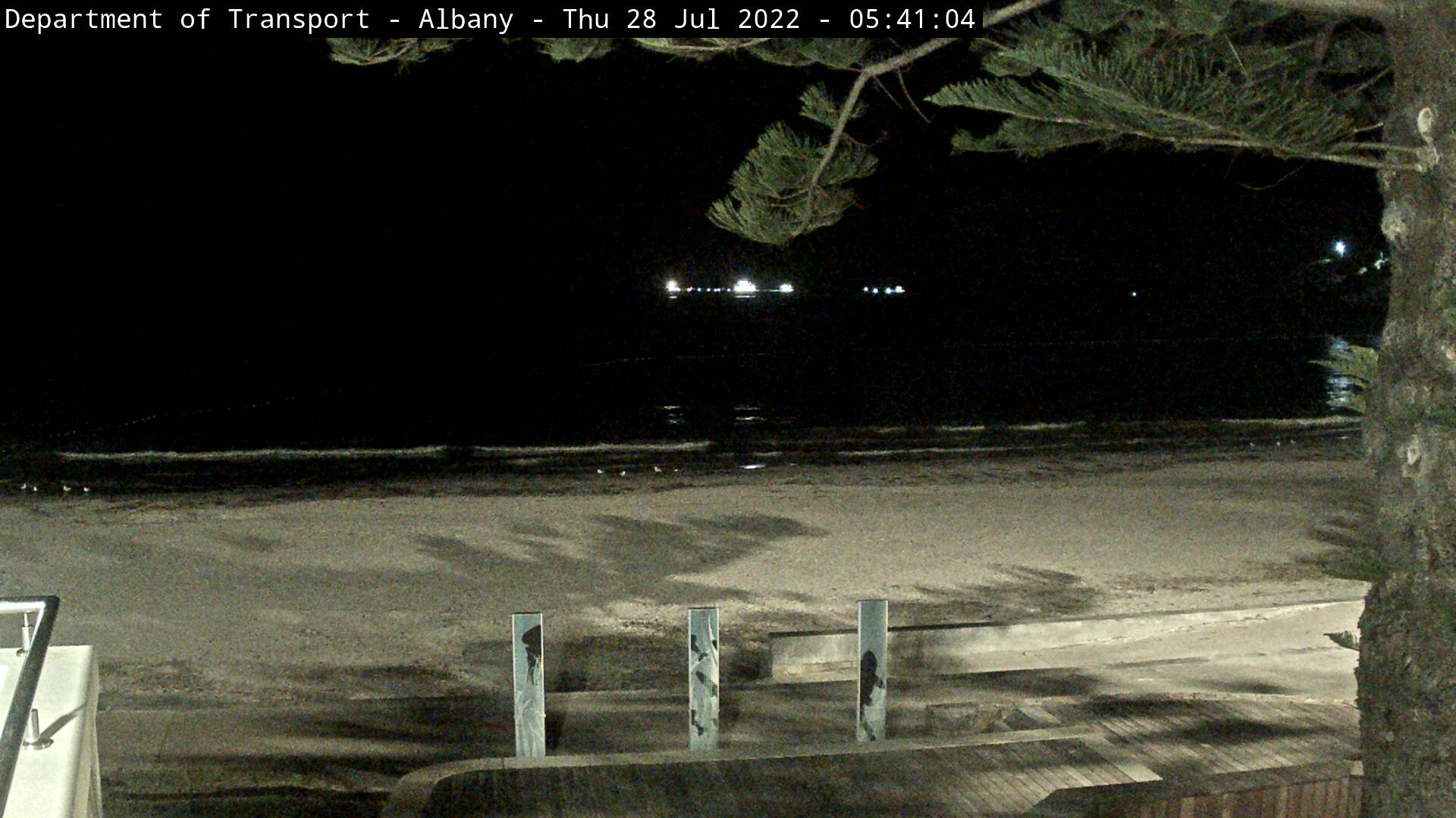 Live camera at Albany Surf Life Saving Club Western Australia