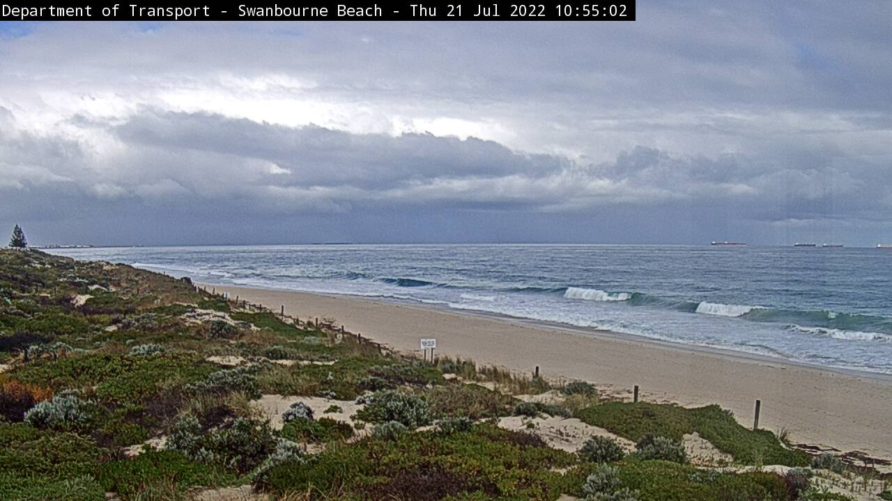 Live camera Swanbourne Beach Western Australia
