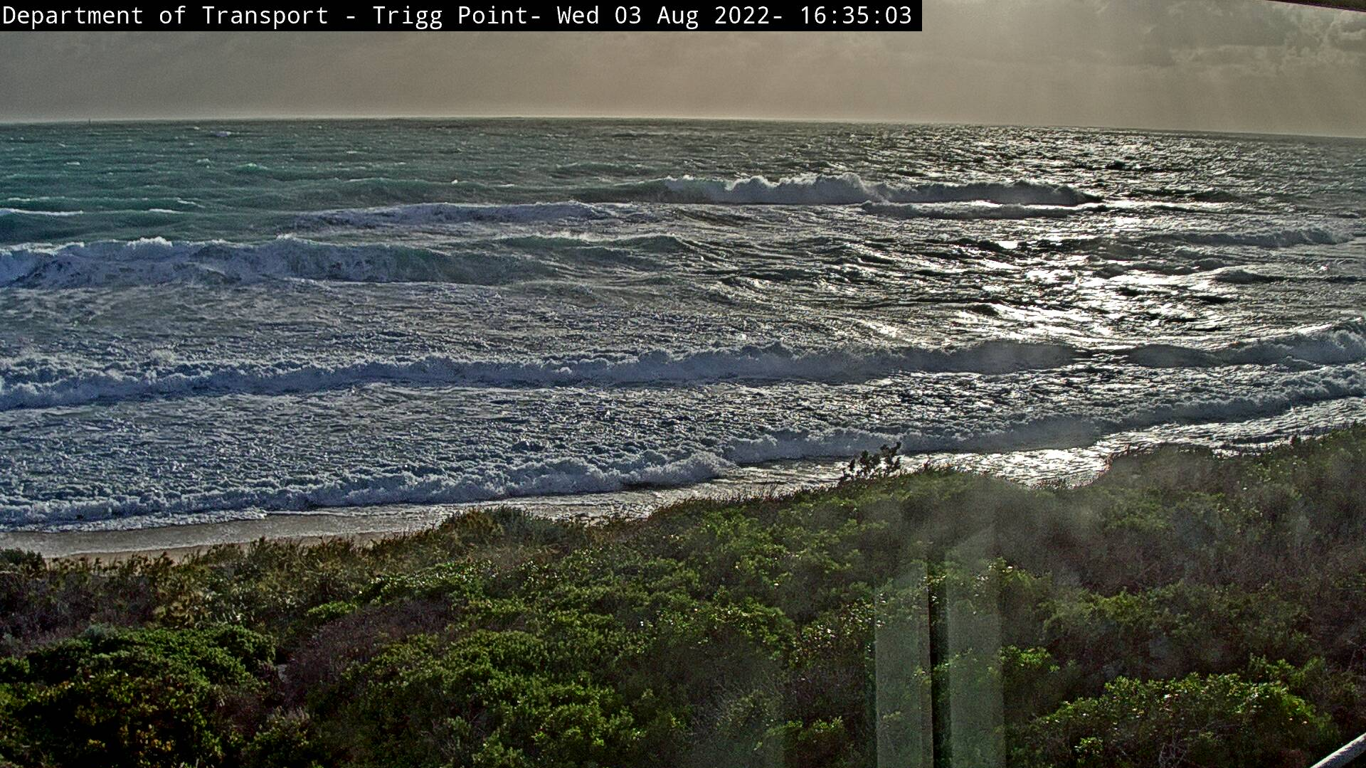 Perth webcam - Triggs Beach webcam, Western Australia, Perth