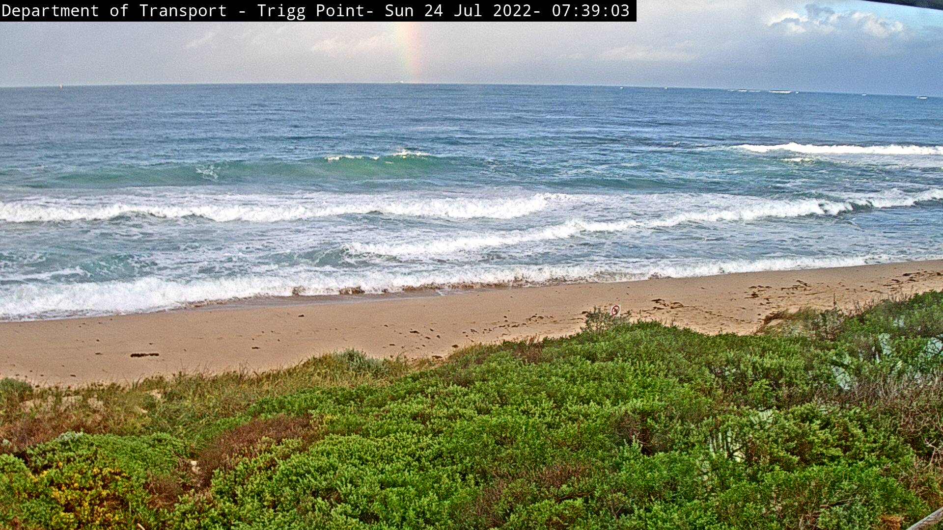 Perth, Trigg Point beach Live Cam, Australia