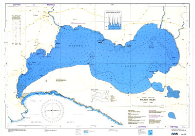 Download high resolution chart for Wilson Inlet