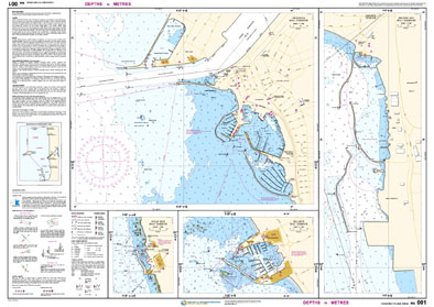 Low resolution chart for Ocean Reef to Cape Peron side B