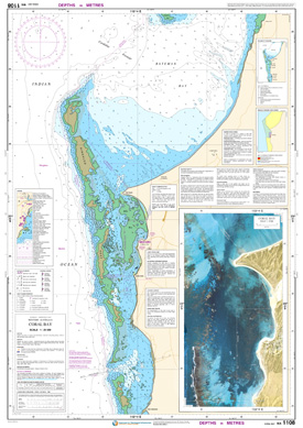 Download high resolution chart for Coral Bay