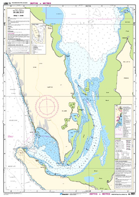 Low resolution chart for Shark Bay side B