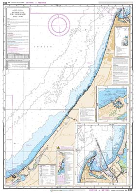 Download high resolution chart for Bunbury to Port Geographe