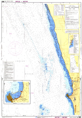 Download high resolution chart for Dongara - Port Denison