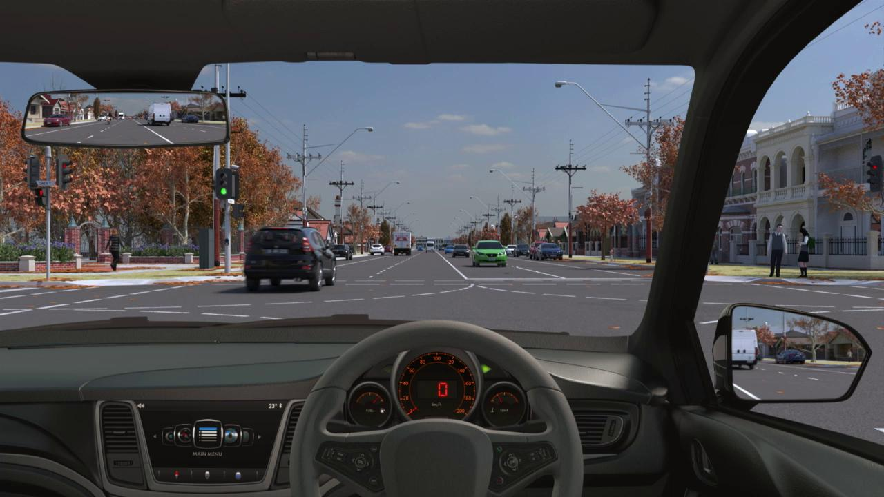 Hazard perception test: vicroads.