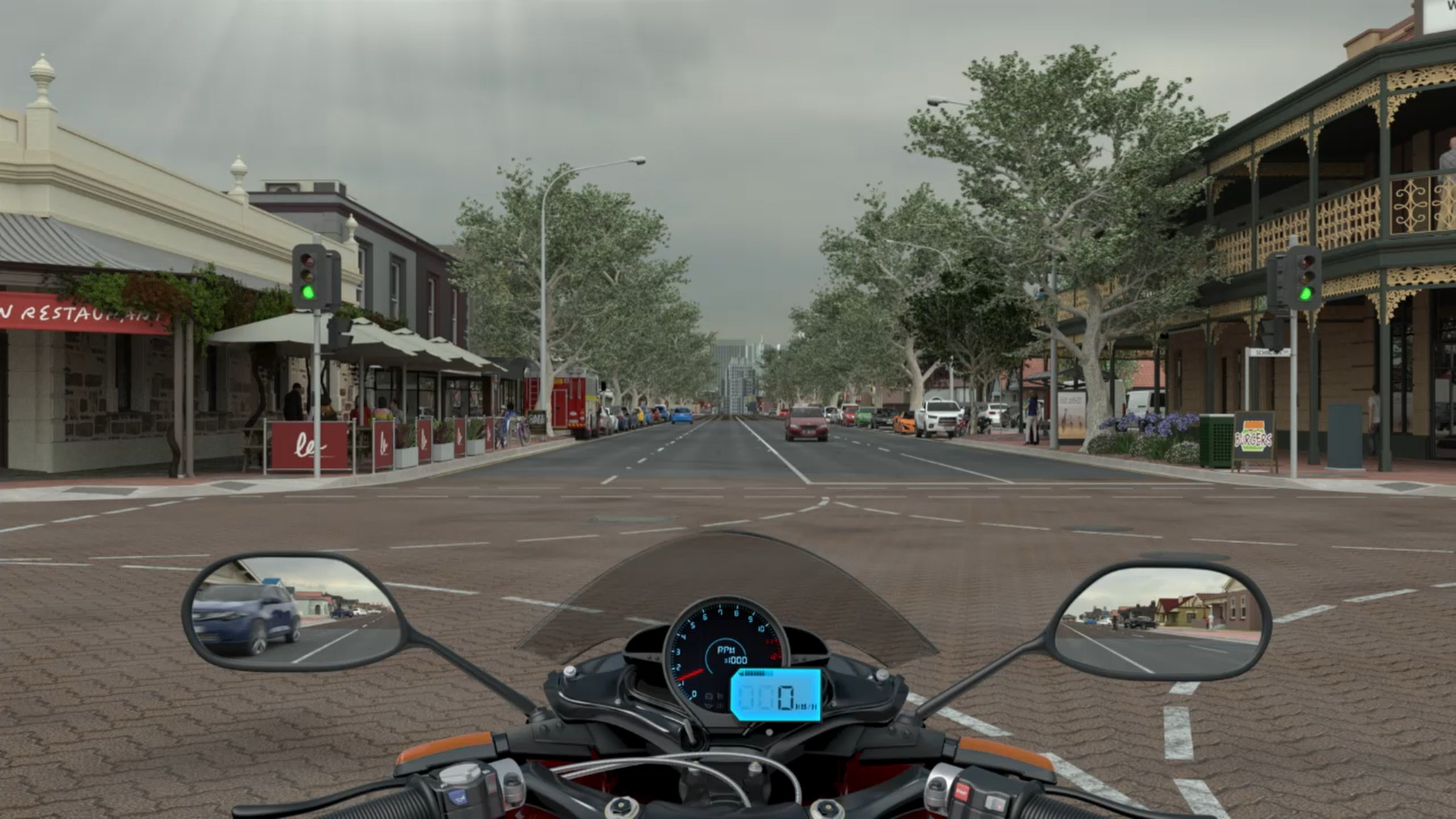 Hazard Perception Test simulator